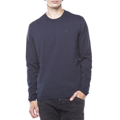 Mustang Sweter Niebieski L