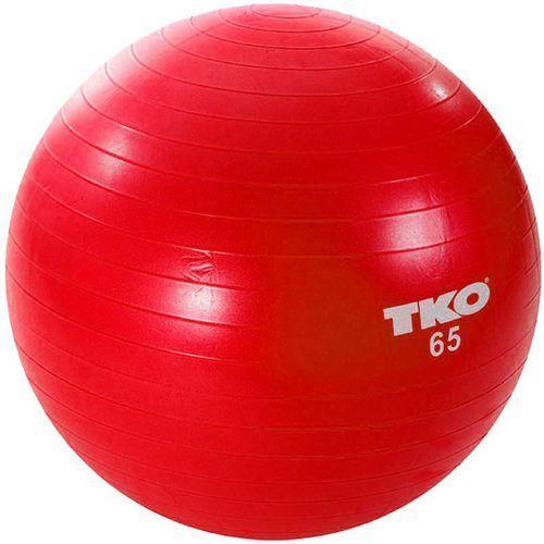 Piłka gimnastyczna 122fbp czerwony marki Tko