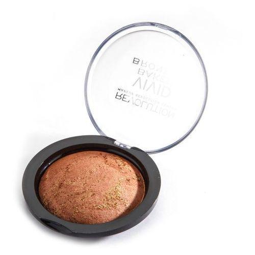 Makeup revolution vivid baked bronzer bronzed fame - wypiekany bronzer (5029066014214). Najniższe ceny, najlepsze promocje w sklepach, opinie.