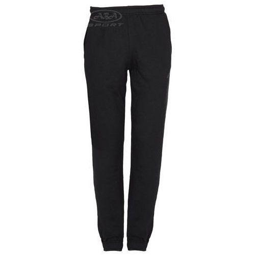 Dresowe spodnie męskie SPMD002 4F, kolor czarny