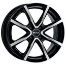 Mak  milano 4 black mirror 5.50x15 4x100 et45 dot