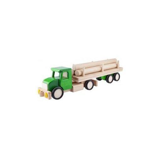 Duża ciężarówka z balami zielona marki Invest-pol