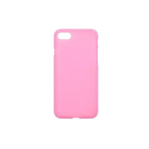 Apple iPhone 7 - etui na telefon FLEXmat Case - różowy