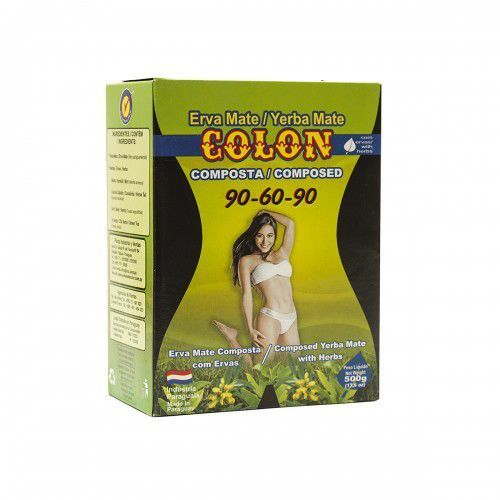 Yerba mate colon 90-60-90 ziołowy 500 g  marki Intenson