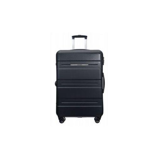Puccini walizka duża twarda z kolekcji atlanta pc025 4 koła zamek szyfrowy