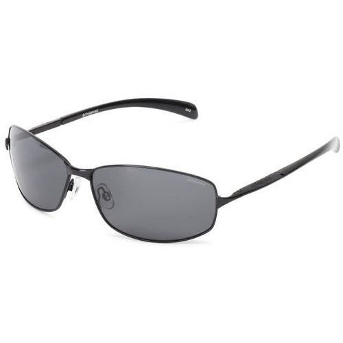 Polaroid mężczyzn p4126 Aviator okulary przeciwsłoneczne - 66 czarny (0762753834669)