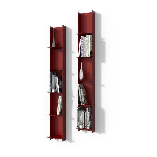 D2.design Biblioteczka libra 1 czerwona - d2 design - zapytaj o rabat! (5902385716598)