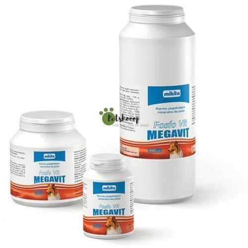 fosfo vit megavit - preparat witaminowo - mineralny dla psów 400tab. marki Mikita