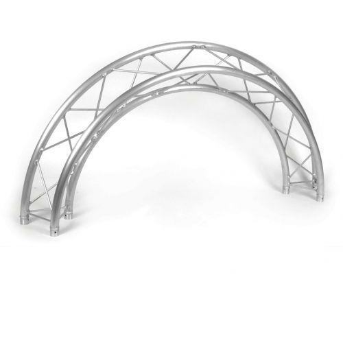 Duratruss dt-33/2-circ-p-4m-90 element konstrukcji aluminiowej ''koła″ 4 metry 90st