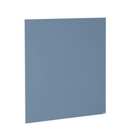 Aj produkty Szklana tablica suchościeralna, 1000x1000 mm, szaroniebieski