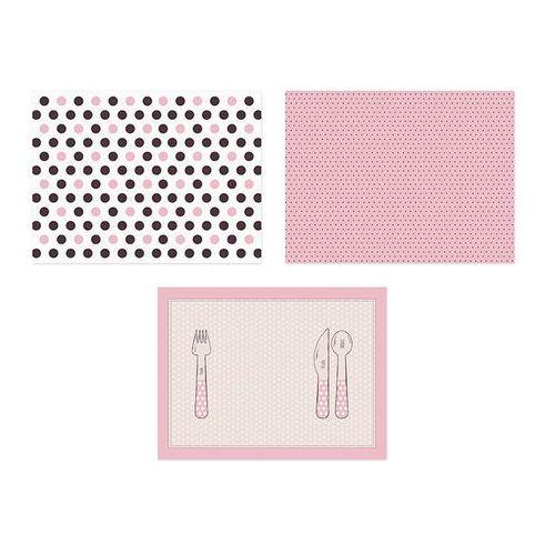 Podkładki papierowe Sweets - 40x30 cm - 6 szt., PPS/5302