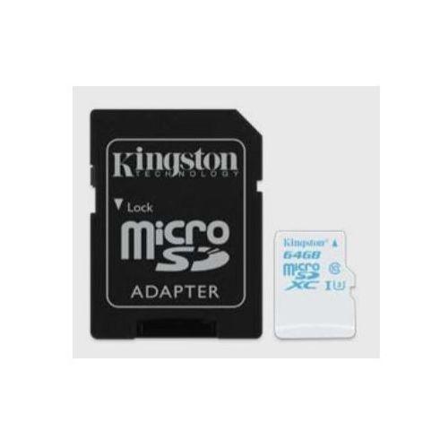 Kingston microSD 64GB Class10 UHS-I U3 90/45