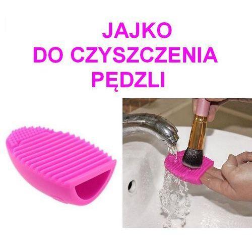 Beauty tools Brush egg jajko do czyszczenia pędzli myjka, kategoria: cienie do powiek