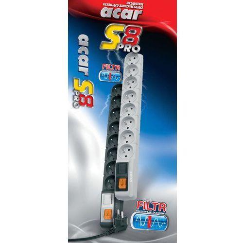 Listwa zasilająca Acar S8 PRO 3m Darmowy odbiór w 21 miastach! (5904743368401)