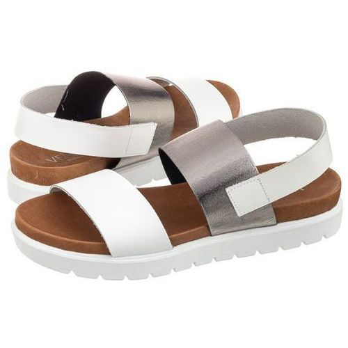 Sandały białe/srebrne ramba 23 bi-cf (ve95-c) marki Venezia