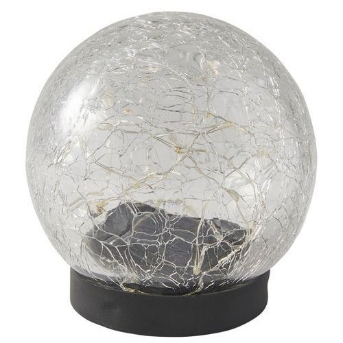 Lampa stołowa Blooma solarna pękająca kula, SL1778