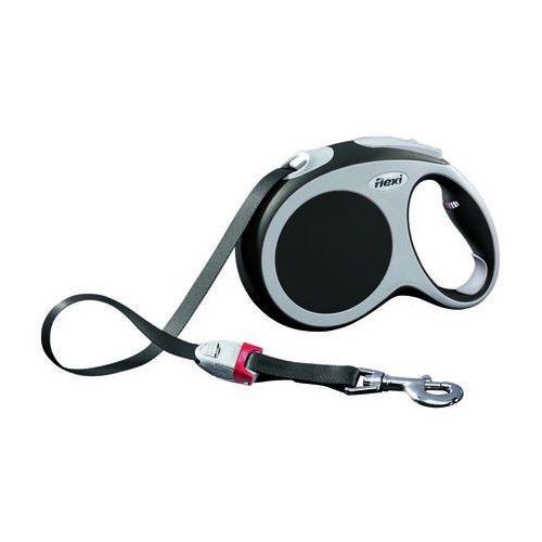 smycz automatyczna vario kolor: czarny l taśma - 5m - do 60kg marki Flexi