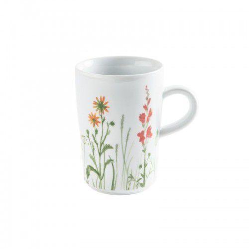 Kahla five senses wildblume mg filiżanka do caffè latte, 0,35 l, czerwona
