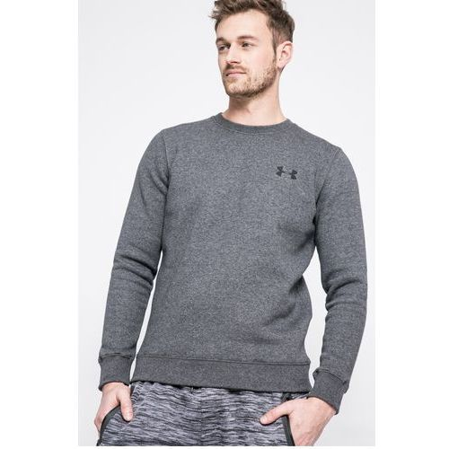 - bluza rival solid fitted crew, Under armour