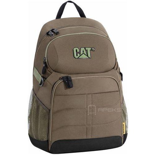 "Caterpillar BEN II plecak na laptop 13"" / CAT / brązowy - Army Green, kolor brązowy"