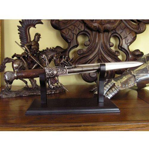 Hiszpańska hybryda pistolet-sztylet z xviii w. (k8799w) marki Hiszpania