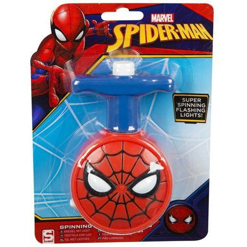 Sambro Świecąca zabawka spinning spiderman