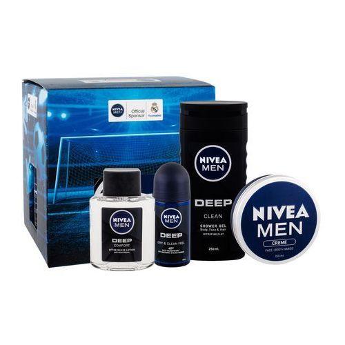 men deep comfort zestaw 100 ml dla mężczyzn marki Nivea