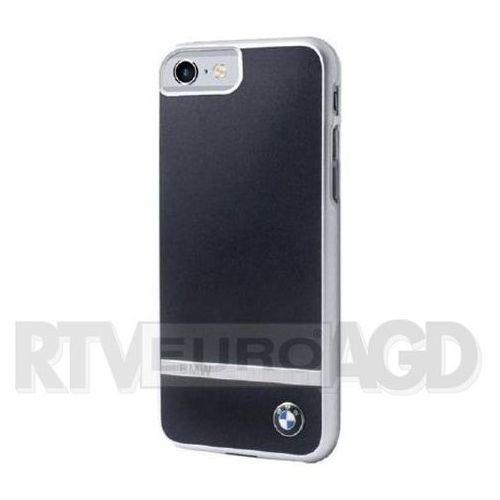 BMW ALUMINIUM STRIPE - Etui iPhone 7 (czarny) z kategorii Futerały i pokrowce do telefonów