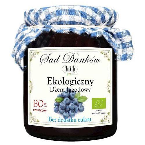 Ekologiczny dżem jagodowy bez dodatku cukru 260g Sad Danków (5907736737567)