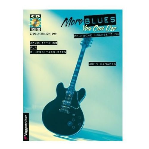 More Blues You Can Use, m. Audio-CD (9783802403842)