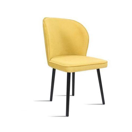 Krzesło RINO miodowy/ noga czarna/ LU2784