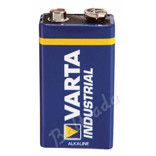 1x bateria alkaliczna  industrial 6lr61/9v 4022 (folia oem) od producenta Varta