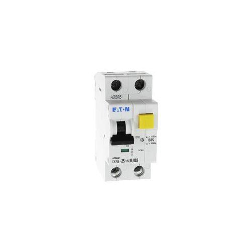 Wyłącznik różnicowoprądowy z członem nadprądowym CKN6 2P B 25A 30mA typ AC 241453 Eaton Electric