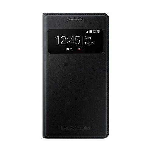 Etui Samsung S View Cover Czarne do Galaxy Core 2 EF-CG355BBEGWW - produkt z kategorii- Pozostałe
