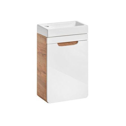 Comad Zestaw mebli łazienkowych z umywalką 40 aruba
