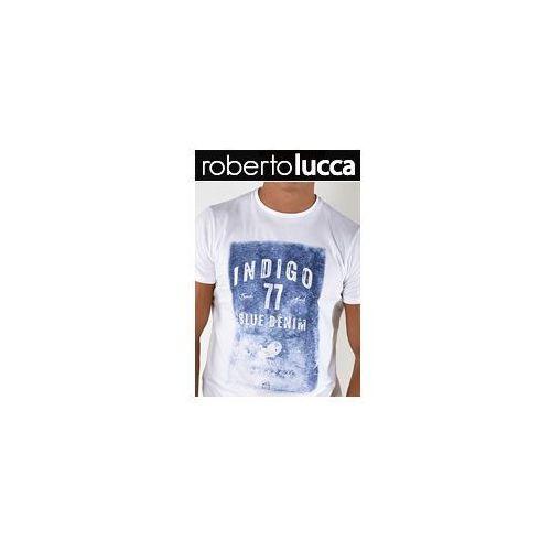 Koszulka REGULAR FIT Roberto Lucca 70219 White Indigo