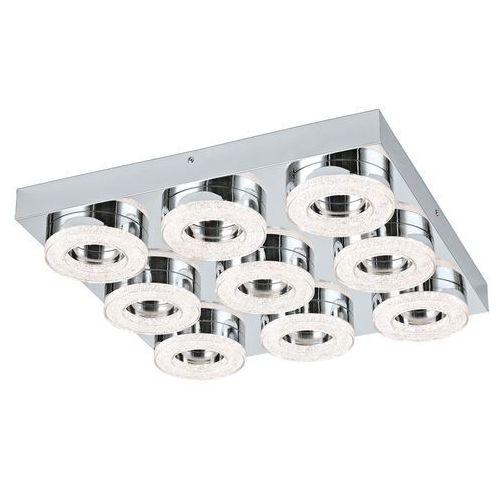 Plafon Eglo Fradelo 95665 lampa sufitowa 9x4W LED chrom / kryształ, 95665
