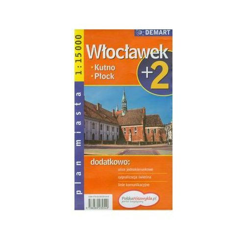 Płock plus 2 plan miasta 1:18 000, DEMART