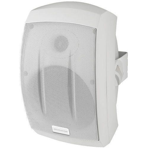 MONACOR ESP-232/WS - 2-drożne zestawy głośnikowe, naścienne - 100V lub 8 ohm