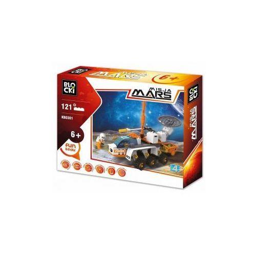 Klocki Blocki Misja Mars Pojazd Kosmiczny 121 Elementów