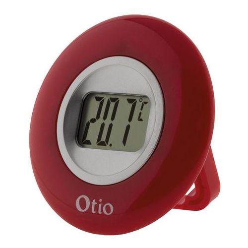 Termometr elektroniczny Otio okrągły czerwony (3545419364017)