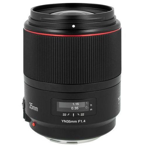Obiektyw YONGNUO YN 35 mm f/1.4 do Canon EF