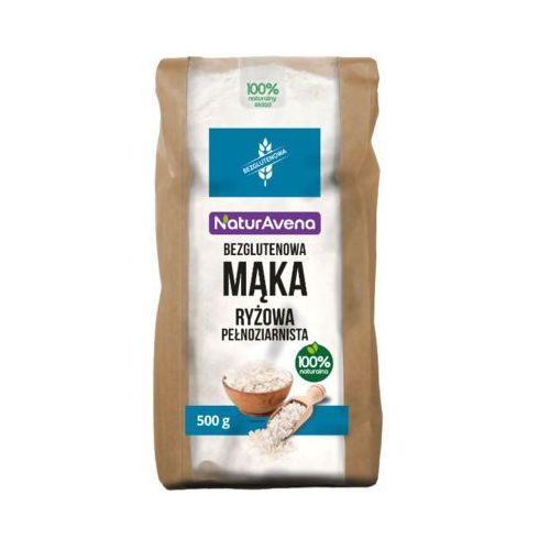Naturavena 500g mąka ryżowa pełnoziarnista bezglutenowa
