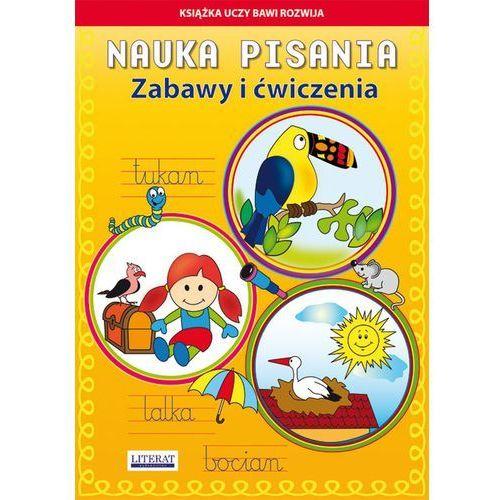 Nauka pisania Zabawy i ćwiczenia Tukan - Guzowska Beata, Mroczek Jacek (9788378988427)