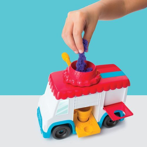 Kinetic sand ice cream truck wielo piasek kinetyczny marki Spin master