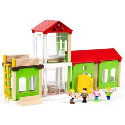 BRIO 33941 Kolejka drewniana: Dom (7312350339413)