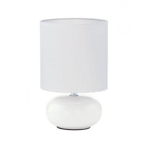 93046 TRONDIO oprawa stołowa ceramika biały / tkanina biały EGLO (9002759930462)