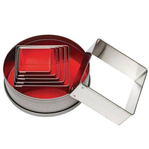 Zestaw wykrojników kwadratowych | 6 elementów marki Vogue. Najniższe ceny, najlepsze promocje w sklepach, opinie.