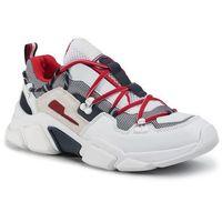 Sneakersy TOMMY HILFIGER - City Voyager Chunky Sneaker FM0FM02580 White YBS, kolor wielokolorowy