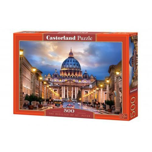 500 elementów bazylika św. piotra wyprodukowany przez Castor